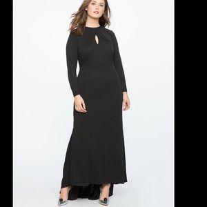 Eloquii 2019 Keyhole Neckline Dress